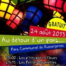 Sam 24.08.2013 • Les Petites Bourrettes @ Au détour d'un Parc